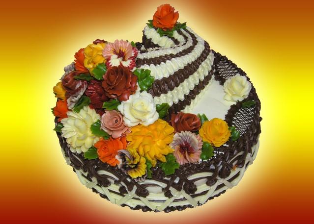 фото торта рог изобилия